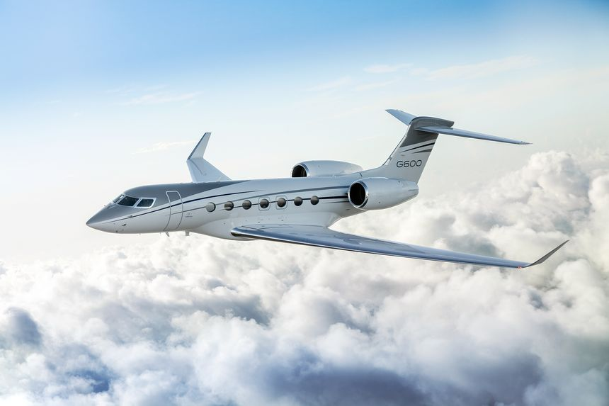 GULFSTREAM G600 RECEIVES TYPE CERTIFICATE FROM FEDERAL AVIATION ADMINISTRATION